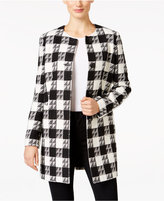 Nine West Houndstooth Topper Jacket