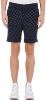 Barneys New York MEN'S PIQUÉ SHORTS