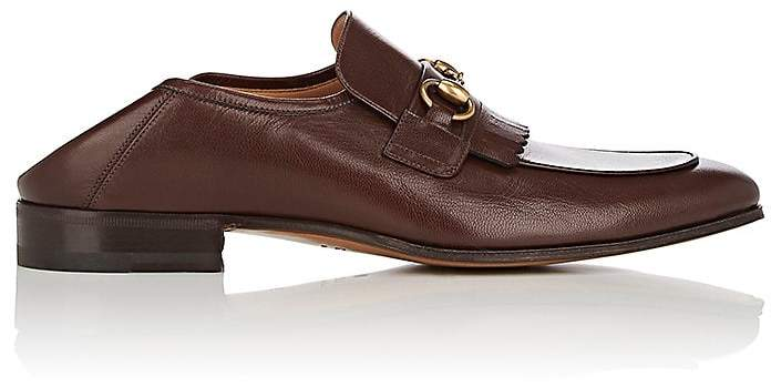 Gucci Men's Harbor Leather Loafers