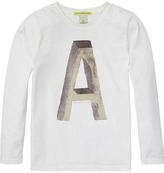 Scotch & Soda Letter Artwork T-Shirt