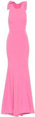 Rebecca Vallance Love crepe gown