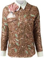 Isabela Capeto sequin embellished shirt