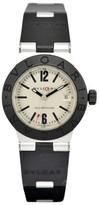 Bulgari AL32TA Aluminium/Rubber with Silver Dial 29mm Womens Watch