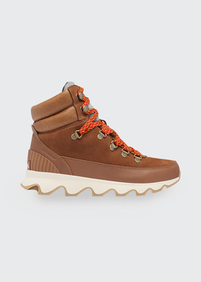 Sorel Kinetic Conquest Mixed Leather Hiker Boots