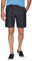 Ben Sherman Record Print Chambray Swim Shorts