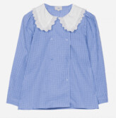 Thumbnail for your product : Margaux Collar Detail Checked Blouse