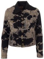 CURRENT ELLIOTT - tie-dye denim jacket