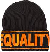 Versace Equality Embroidered Beanie