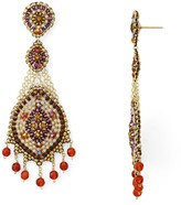Miguel Ases Beaded Drop Earrings