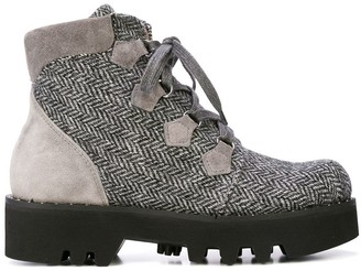 Tabitha Simmons Lace-Up Ankle Boots