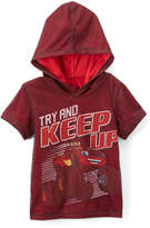 Freeze Red 'Try and Keep Up' Hooded Tee - Toddler