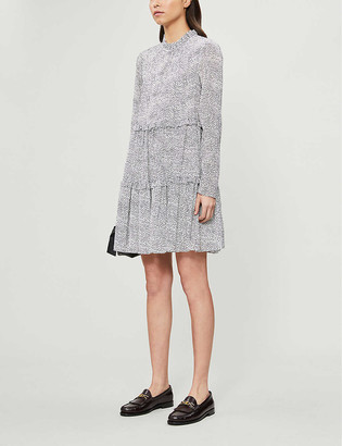 Ted Baker Phenia spotted flock mini dress