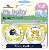 Michaelson Entertainment 2 Piece Pacifier, University of Michigan by Michaelson Entertainment