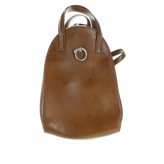 Cartier Panthere Brown Leather Backpacks