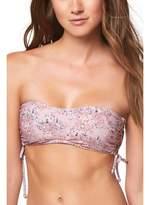 O'Neill Calvin Floral Bandeau Bikini Top (Women's)