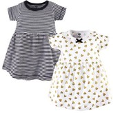 Hudson Baby and Toddler Girl Dresses, 2pk