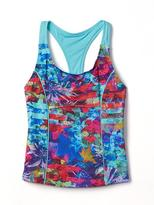 Athleta Girl Tropical Floral Tankini