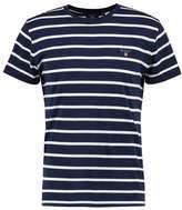Gant Breton Print Tshirt Shadow Blue