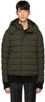 Moncler Green Down Nazaire Coat