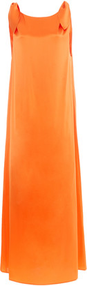 Bernadette Antwerp Wendy Silk-Satin Maxi Dress