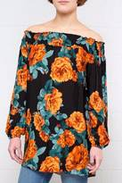 the Hanger Floral Tunic