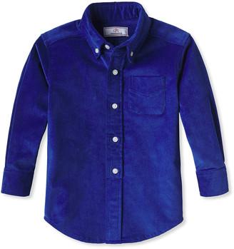 Classic Prep Childrenswear Boy's Owen Corduroy Button-Down Shirt, Size 2-14