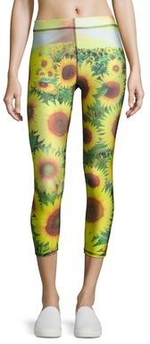 Printed Capri Leggings