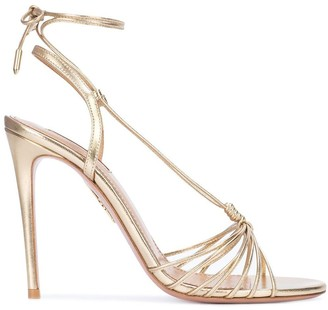 Aquazzura Whisper 12mm strappy sandals