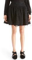 Simone Rocha Gathered Tweed Miniskirt