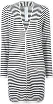 Max Mara long striped cardigan