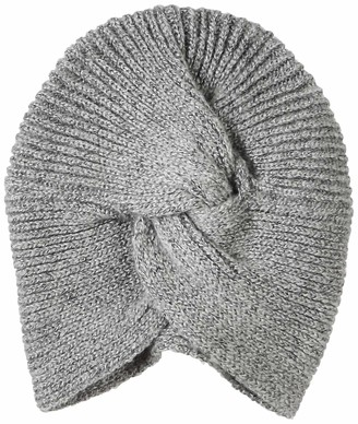 Urban Outfitters UNDER ZERO Women's Vintage Gray Cable Knit Turban Beanie Chemo Hat