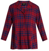 Rachel Comey Yuca plaid-cotton top