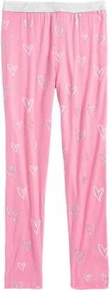 Truly Me Heart Rhinestone Leggings