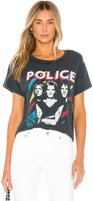Daydreamer The Police Painted Reverse Girlfriend Tee