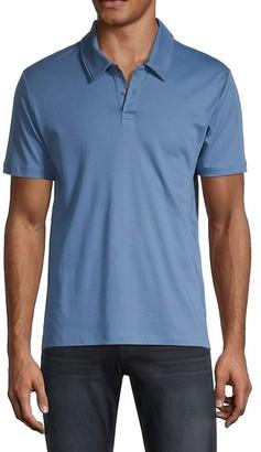 Saks Fifth Avenue Short-Sleeve Cotton Polo