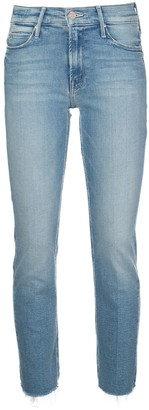 Mother Stonewashed Skinny Jeans