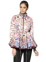 Pow Blossom Nylon Taffeta Down Jacket