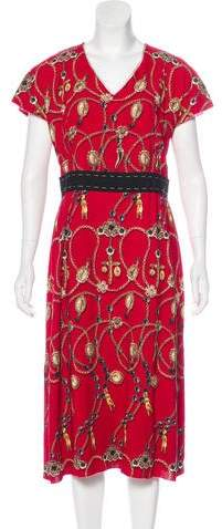 Dolce & Gabbana 2016 Rosary Print Dress w/ Tags