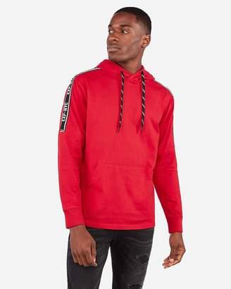 Express Exp Nyc Drop Shoulder Heavyweight Jersey Hooded T-Shirt