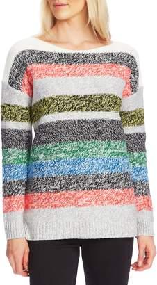 Vince Camuto Boat Neck Stripe Sweater