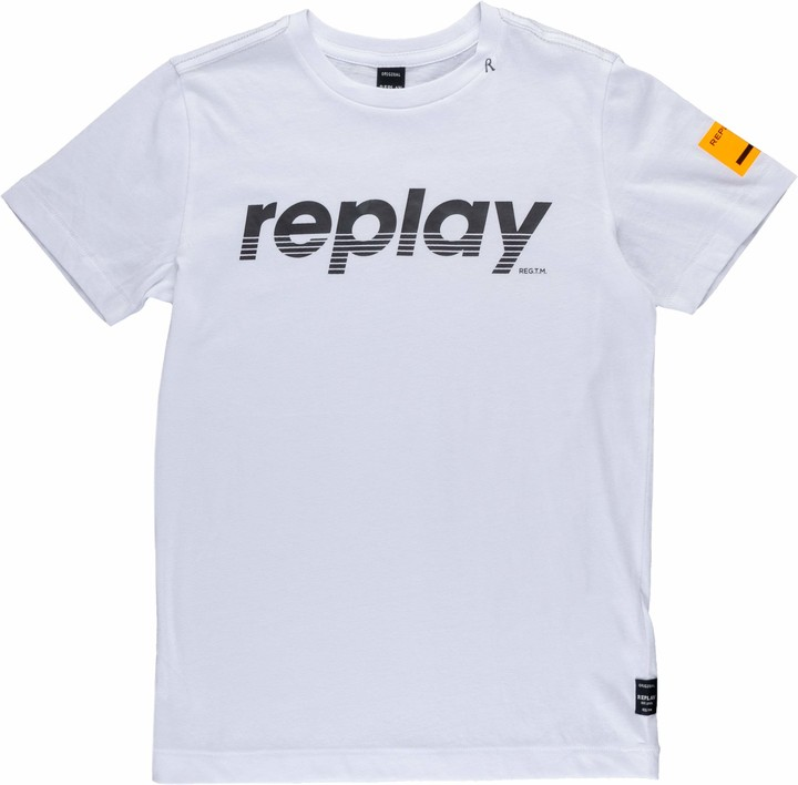 Replay Boy's Sb7308.020.20994 T-Shirt