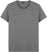 Vince Grey Mélange Cotton T-shirt