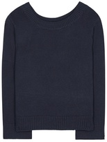 The Row Crisac cotton and silk-blend top