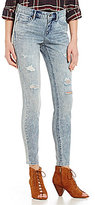 Miraclebody Jeans Faith Distressed Skinny Jeans