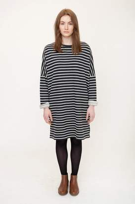 Beaumont Organic Black And White Sarasi Organic Cotton Dress - Black And White / Extra Small - Black/White