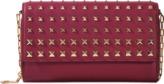 Valentino Garavani Dégradé Rockstud wallet on chain