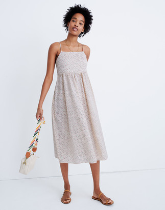 Madewell Cami Tie-Strap Sundress in Bright Buds
