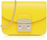 Furla Bright Yellow Metropolis Mini Crossbody Bag