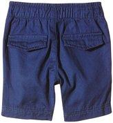 Petit Bateau Twill Shorts (Baby) - Blue-18 Months