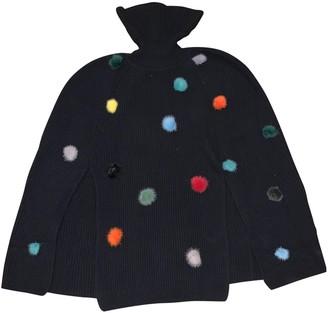 Fendi Black Cashmere Knitwear